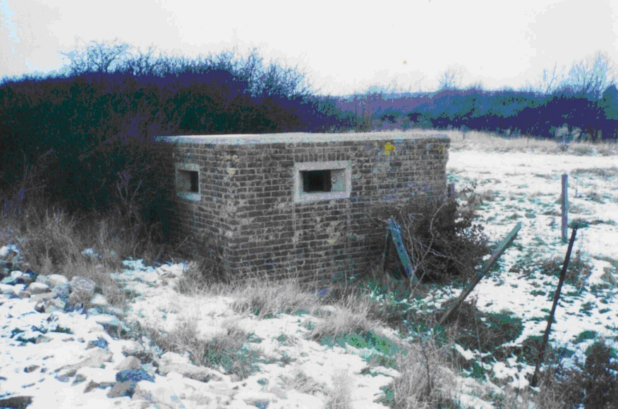 Pillbox in Snow